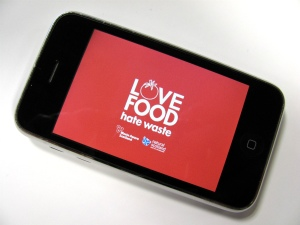 Love Food Hate Waste iPhone App